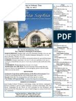 Bulletin for July 19, 2015