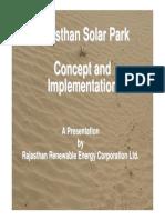 Rajasthan Solar Parks