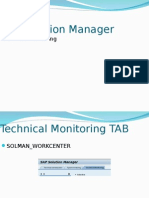 Technical Monitoring SOLMAN