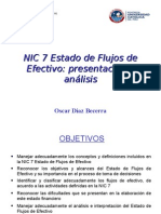 Estado de Flujo de Efectivo - NIC 7