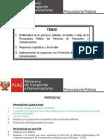 Problematica de Los Procesos Arbitrales - MTC