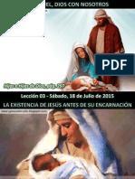 Lección 03 - Emanuel, Dios Con Nosotros