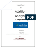 Attrition Analysis Payal Modi