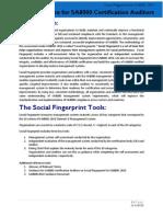 SA8000 2014 Auditor Guidance for Social Fingerprint