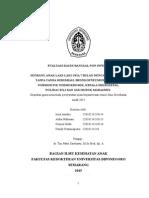 Kasus Bangsal Non Infeksi Gizi Buruk II Ed