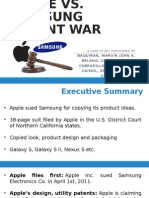 Apple vs. Samsung Case Study