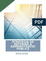 Strategwia de Reformare a AP