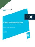 Sondage Francais Protection-Vieprivee