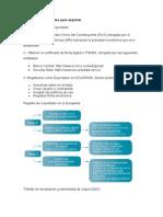 exportacion ecuador requisitos y proceso
