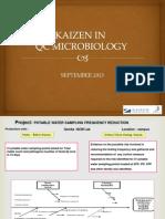 Kaizen in Qc Microbiology – Kaizen Institute India