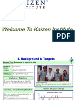 Reduction of Approval Time – Kaizen Institute India