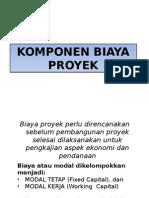 Komponen Biaya Proyek (k3)