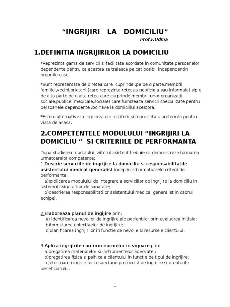 Cerințe pentru activitățile de îngrijire | Personenbetreuung