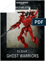 Dataslate-Eldar Ghost Warriors