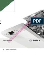 Bosch Sms53m58ff Lave Vaisselle Notice 633FR