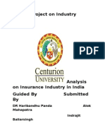 Project on Industry Analysis.docx