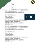 Spanglovision2 Lyrics Miliki