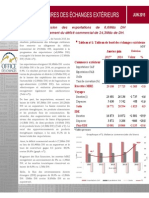 Maroc, Office Des Changes, Indicateurs Semestriels Préliminaires Des Échanges Extérieurs Juin 2015