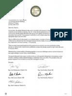 Brainerd Area Legislators Invitation to  Gov  MarkDayton