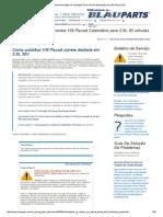 VW Passat Instruções de Instalação Da Correia de Distribuição Para 30 Válvula 2