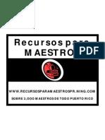 Flyer Recursos para Maestros de Puerto Rico