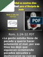 El Desafio de La Sexualidad moderna Para El Discipulo de Jesus