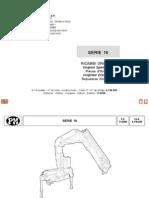 Despiece PM Serie 16- Fuera de Producción