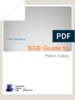 Guide to Python Coding