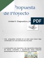 2.13 Propuesta de Proyecto