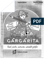 Caiet Pentru Exersarea Semnelor Grafice - Rita Gargarita