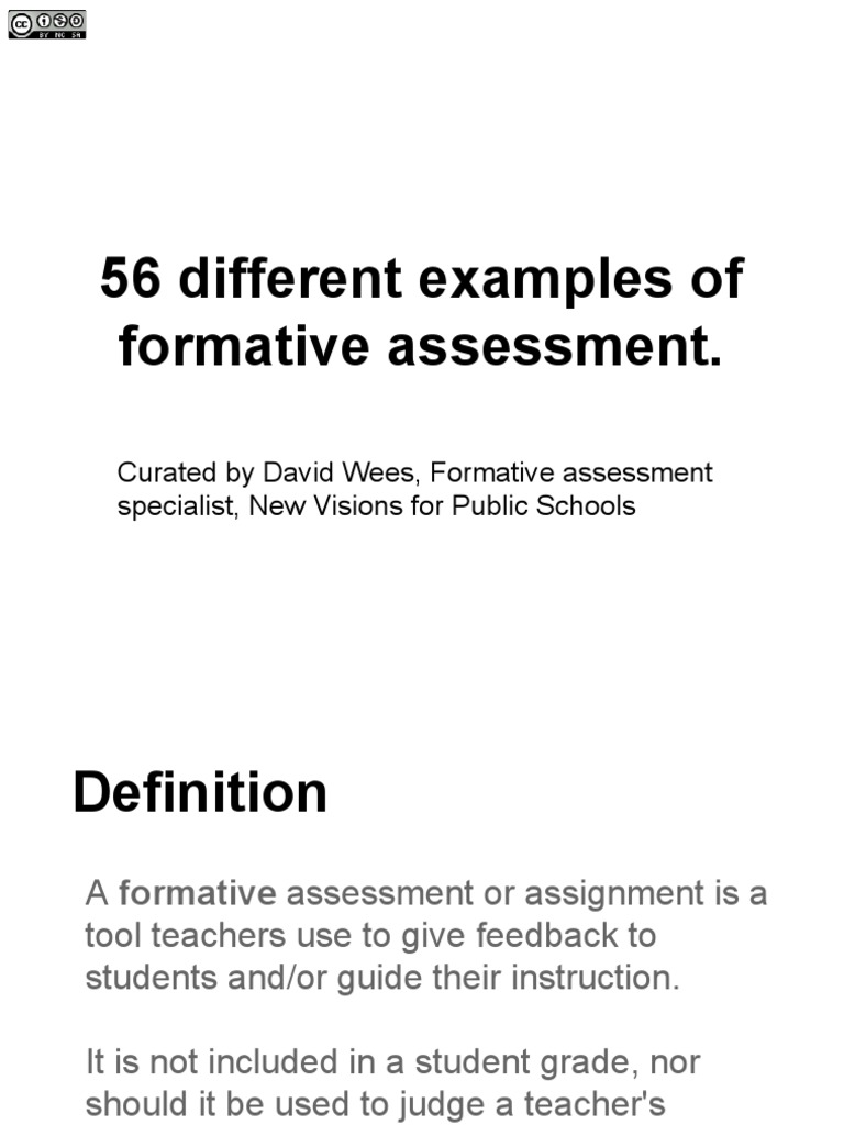 formative assessment | educational assessment | cognitive science