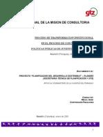 Transformación Institucional Paraguay