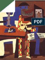 Análise da Pintura Os Três Músicos de Pablo Picasso
