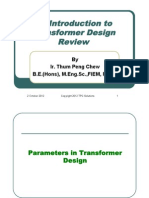 Transformer Basics for OM Review