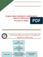 1-Overview of Public Proc. Amendment Regulations 2013