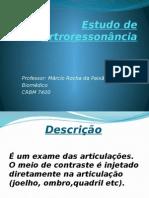 Estudo de Artroressonância 2014