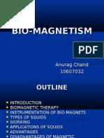 Bio Magnetism (Btech seminar)