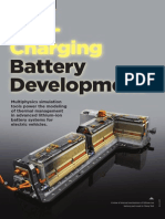 AA V6 I3 Fast Charging Battery Development