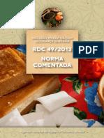 RDC+comentada+49+de+2013+versão+PDF