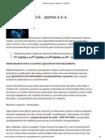 Mecanica Cuantică - Partea a 6-A - Scientia