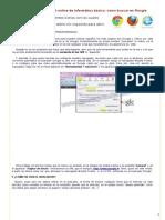 Buscadores y Forma de Usarlos,Manual de Informática e Internet Para Principiante,Aprender Informatica Online, Usar Internet Facil