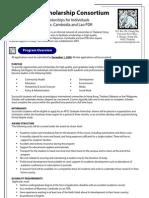 APSC Scholarship Overview
