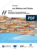 OECD - SME Policy Index  Western Balkans and Turkey 2012