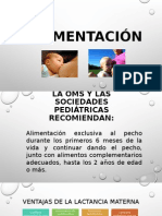 Alimentación -Inmunazación - 2011
