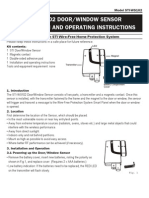 STI WS102 Instruction Manual