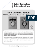 STI UB-1LTUL Instruction Manual