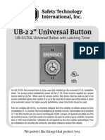 STI UB2 Instruction Manual