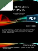 Prevencion Primaria Muerte subita Jfr 2014