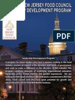 2015 Leadership Development Program Brochure and Nomination Form