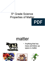 5th Grade Properties of Matter